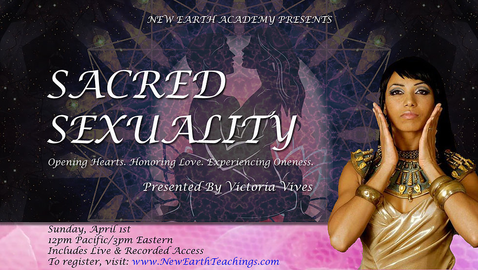 Sacred Sexuality Victoria Vives